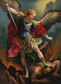 St. Michael the Archangel von decoratifcollections
