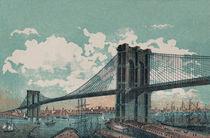 Brooklyn Bridge von decoratifcollections