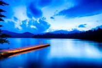 lake santeetlah sunset von digidreamgrafix