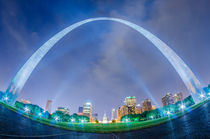 saint louis skyline by digidreamgrafix