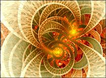 Digital Leuchtende Blume by bilddesign-by-gitta