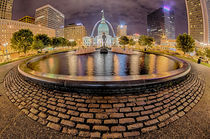 saint louis skyline von digidreamgrafix