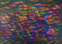 Vielfärberei | Polychome Particles | Color Campo Cuántico von artistdesign