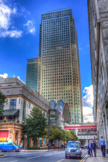 Canary Wharf London von David Pyatt