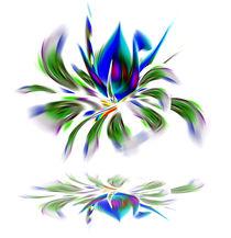 Blumenfantasie von Walter Zettl