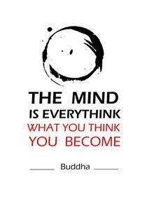 Buddha inspirational quote  von Lila  Benharush