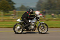 Honda Cafe Racer, Mitzieher by Mark Gassner