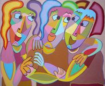 Painting Soulmates - Gemälde Busenfreunde von Twan de Vos