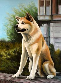 Hachi painting von Paul Meijering