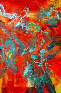 rotes Leuchten   von Barbara Ast