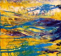 abstrakte Landschaft von Barbara Ast