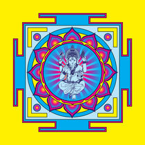 Ganesha Mandala by Galactic Mantra