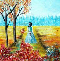 Herbstspaziergang von Vera Markgraf