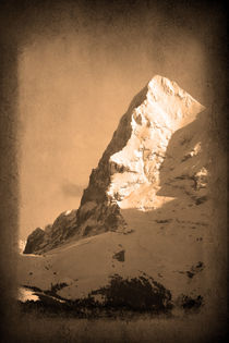Eiger Nordwand by Gerhard Albicker