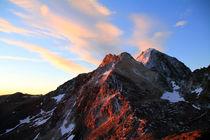 Bergmorgen von Gerhard Albicker