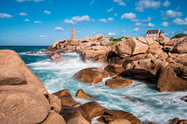 Leuchtturm in der Bretagne by Rico Ködder