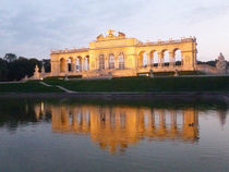 Gloriette in the mirror by Barbara Seidl
