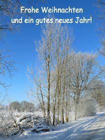 Frohe Weihnachten by gscheffbuch