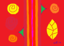 Modern Rose Poem 5 von Anita Dale Livaditis