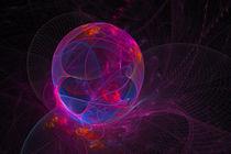 Leuchtende Netzwelten von Viktor Peschel