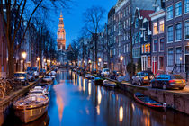 Amsterdam at night by Sara Winter