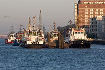 Schlepper im Hamburger Hafen von ta-views