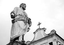 Saint and Cross by Valentino Visentini