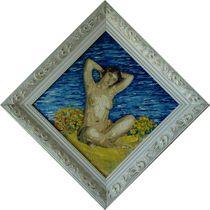 Bather in the Dunes by Jean-Michel René  Souche