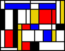 MONDRIAN TRIBUTE von THE USUAL DESIGNERS