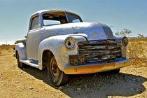 Verlassener Wagen Kalifornien von Ronald Klötzer