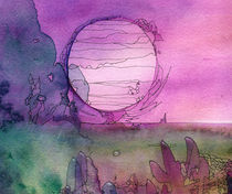 Pink Sun by Christina Rahm