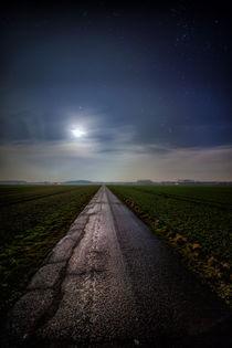 Feldweg bei Nacht von maldesowhat