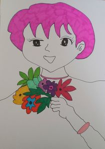 Pinky by Amanda Elizabeth  Sullivan