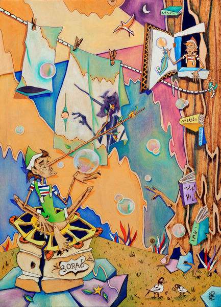 Pinocchio-in-venedig-kinder-buch-illustration