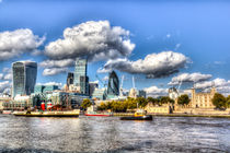 London View by David Pyatt