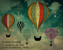 1er vuelo Aerostático en España von dip