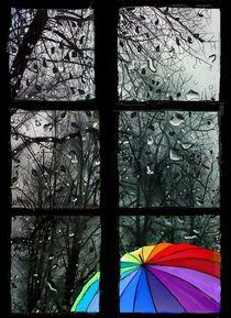 Das Regenfenster von Heidi Schmitt-Lermann