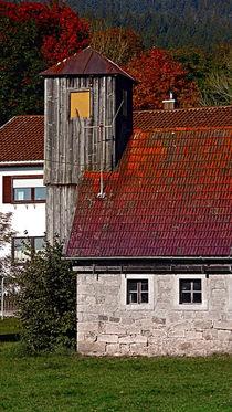 'Das alte Feuerwehrhaus von Neureichenau | Architekturfotografie' von Patrick Jobst