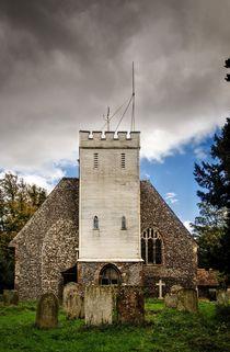 Church with wooden tower von Jeremy Sage