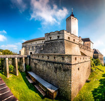 Towering Walls von westlightart