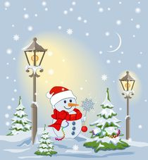 Christmas background  von larisa-koshkina