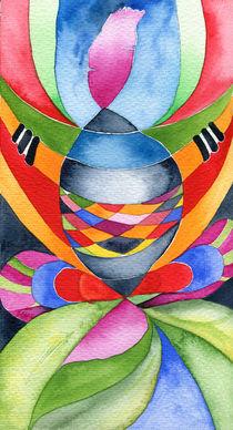 Art nouveau shaman by Christina Rahm