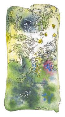 Art Nouveau Landscape by Christina Rahm