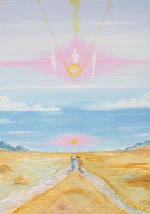 Kosmische Begegnung by Michael Amrit Bleichner