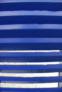 Blau Weis nicht klein kariert  by Michael Amrit Bleichner