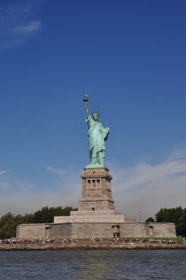 Freiheitsstatue, Statue of Liberty, Liberty Island, New York by Mark Gassner