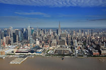 Blick auf Manhattan, New York City von Mark Gassner