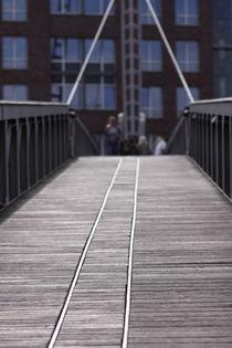 Hamburg, Hafencity Holzsteg - Harbourcity broadwalk 2 von Marc Heiligenstein