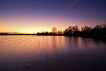 See im Sonnenuntergang von maldesowhat