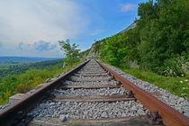 Bahngleise am Ucka Gebirge - Istrien, Kroatien, Croatia by Mark Gassner